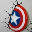 Постер, плакат: A model of the Captain America Shield from the movies and comics