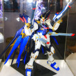 A model of the character Gundam from the movies and comics 8 — Stock Photo