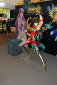 A model of the character Saint Seiya from the movies and comics — Stock Photo