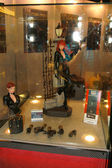 A model of the character Black Widow from the movies and comics — Stock Photo