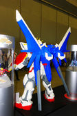 A model of the character Gundam from the movies and comics 14 — Stock Photo