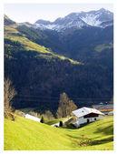 Dağ köyü — Stock Photo