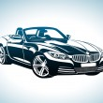 Spor arabaların kralı — Stock Vector #22342783