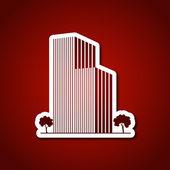 Architecture logo template — Stock Vector