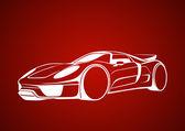 Arabaların kralı karamel rengi — Stock Vector