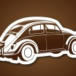Sweet old auto — Stock Vector #37554615