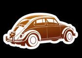 ностальгический автомобиль — Cтоковый вектор