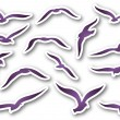 Seagulls — Stock Vector #37765367