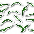 Seagulls — Stock Vector #37765403