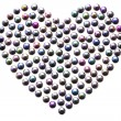 Bead Heart — Stock Photo
