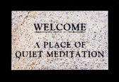 Spokojnej medytacji — Zdjęcie stockowe