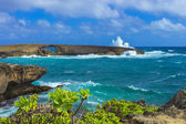 Laie Sea Arch — Stock Photo