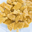 Macadamia Nut Brittle — Stock Photo