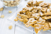 Kona Coffee Macadamia Nut Brittle — Stock Photo