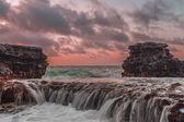 Sandy's Rock Falls — Stock Photo