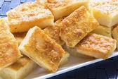 Butter Coconut Mochi — Stock Photo