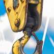 Boat Hoist Hook — Stock Photo