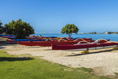 Outrigger Canoes 2 — Stock Photo