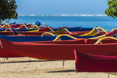 Outrigger Canoes 1 — Stock Photo