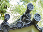Japanese Roof Details — Stock Photo