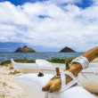 Stock Photo: Lanikai Outrigger