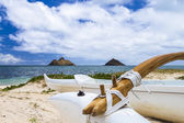 Lanikai Outrigger — Stock Photo