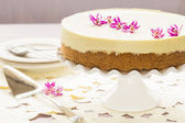 Lilikoi Chiffon Pie — Stock Photo