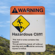 Stock Photo: Hazardous Cliff