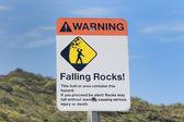 Caída de rocas — Foto de Stock