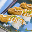 Fried Breaded Sushi — Stock Photo