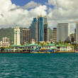 Downtown Honolulu — 图库照片