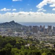 Stock Photo: Waikiki and Diamond Head