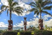 Polynesian Tiki — Foto Stock