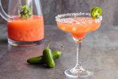 Guava Jalapeno Margarita — Stock fotografie