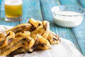 Portobello Fries — Stock Photo