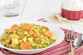 Hamburger Curry — Stock Photo