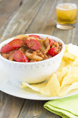 Hawaiian Pork and Beans — Stock Photo