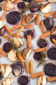 Rosemary pečená kořenová zelenina — Stock fotografie
