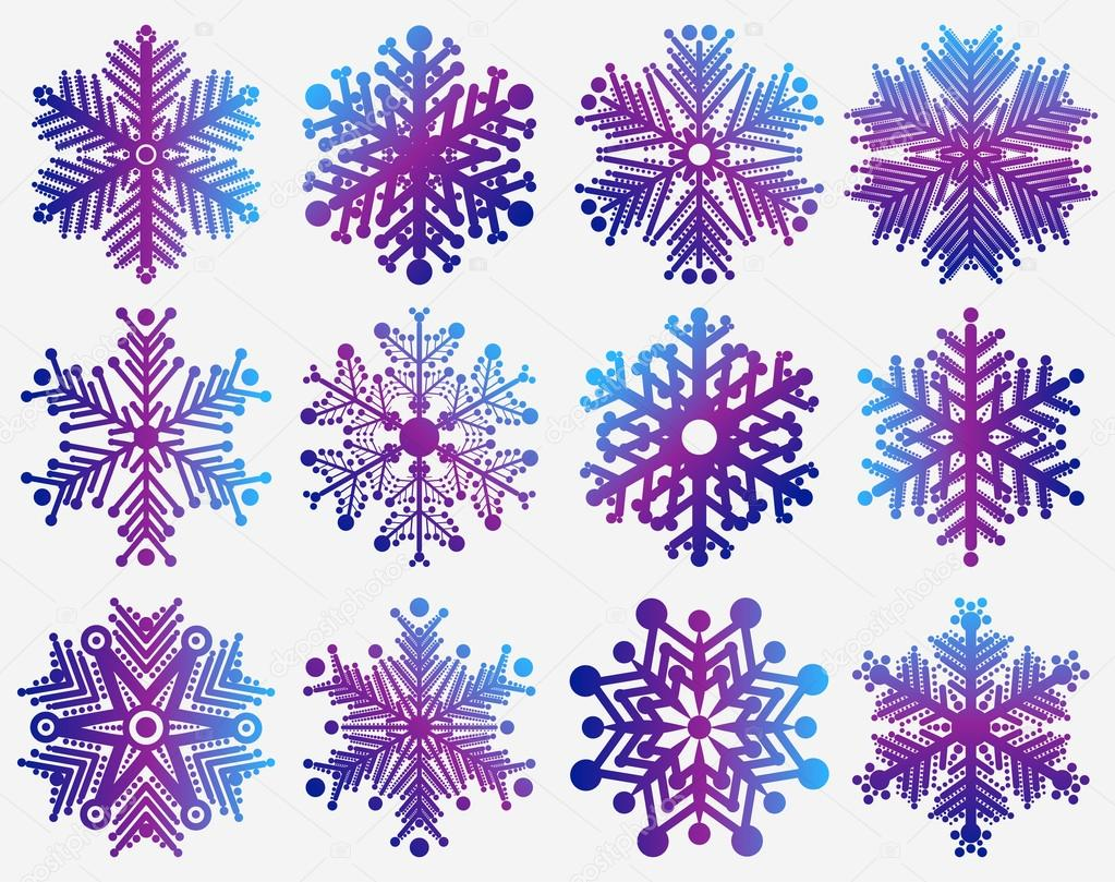Displaying 20> Images For - Purple Snowflake Clipart...