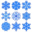 Snowflakes — Stock Vector #16862963