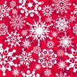Stock Vector: Seamless pattern with snowflakes