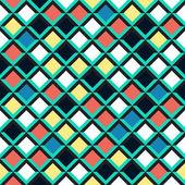 幾何学的なシームレス パターン — ストックベクタ