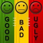 Good Bad Ugly — Stock Photo