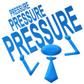 Pressure Blue — Stock Photo