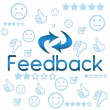 Stock Photo: Feedback with Faces