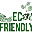 Eco Friendly Square — Stock Photo