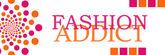 Fashion Addict Banner Circles — Stockfoto