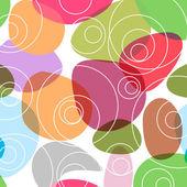 Colourful Random Circles Background — Stock Photo