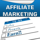 Affiliate Marketing Square — Stock Photo