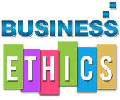 Business Ethics Professional Colourful — Stock Photo